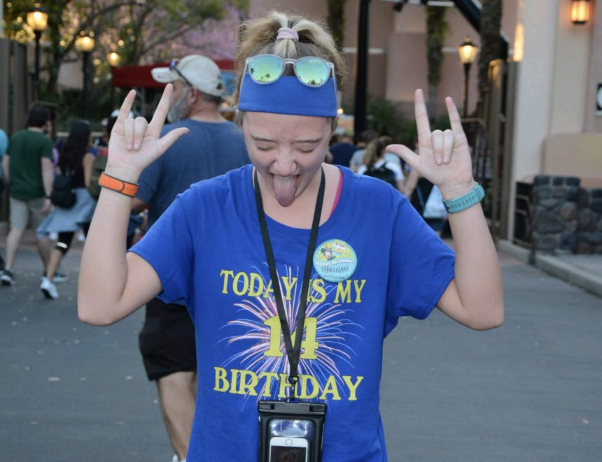 From Hannah: Disney World, Universal and My 14th Birthday!